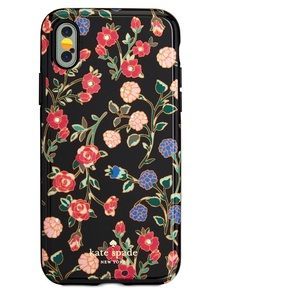 Kate Spade Flowers IPhone X case